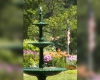 garden fountain   Cornerstone Victorian BB   Lake George NY