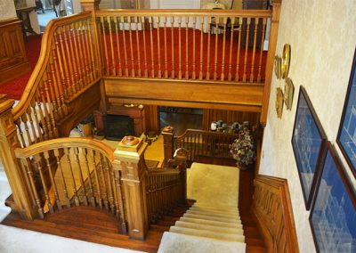Staircase | Cornerstone Victorian BB | Lake George NY