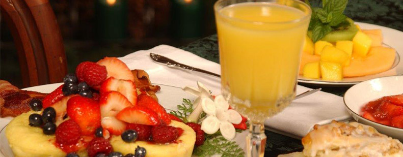 Five Course Breakfast | Cornerstone Victorian BB | Lake George NY