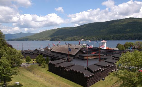 Forts and Museum | Cornerstone Victorian BB | Lake George NY