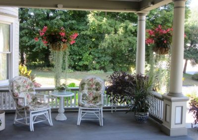 Porch | Cornerstone Victorian BB | Lake George NY