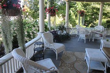 Porch Chair | Cornerstone Victorian BB | Lake George NY