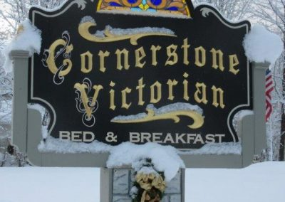 Winter | Cornerstone Victorian BB | Lake George NY